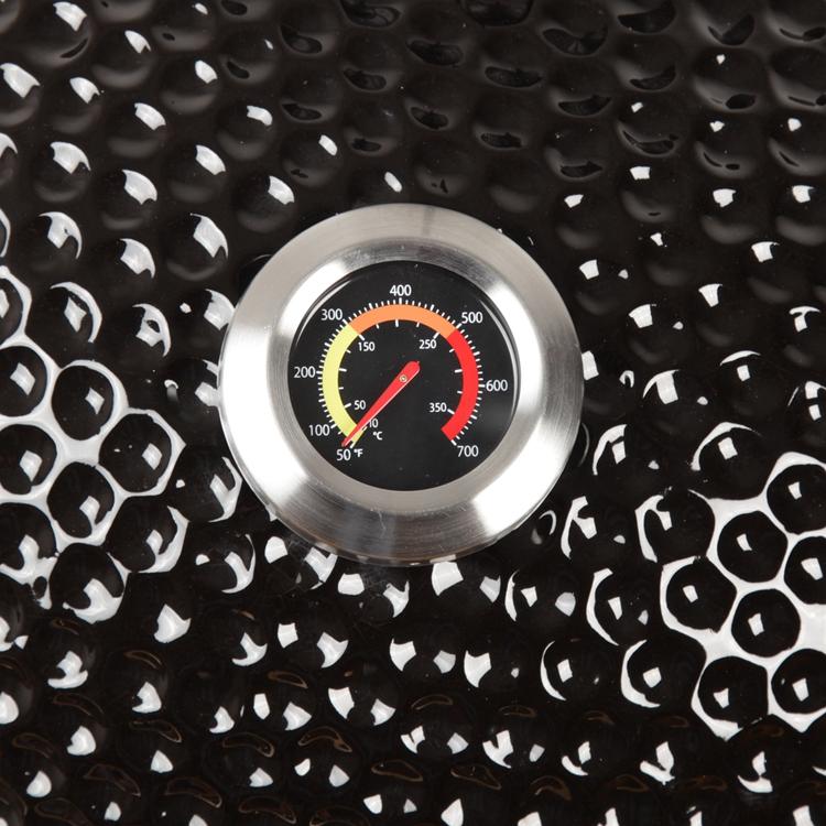 Kamado Pro termometer, črn